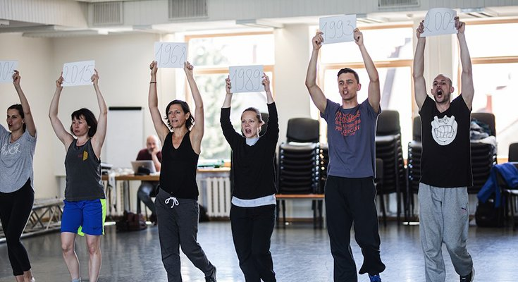 Prancūzų choreografas Klaipėdoje kuria spektaklį Lietuvos šimtmečiui paminėti , nuotrauka-2