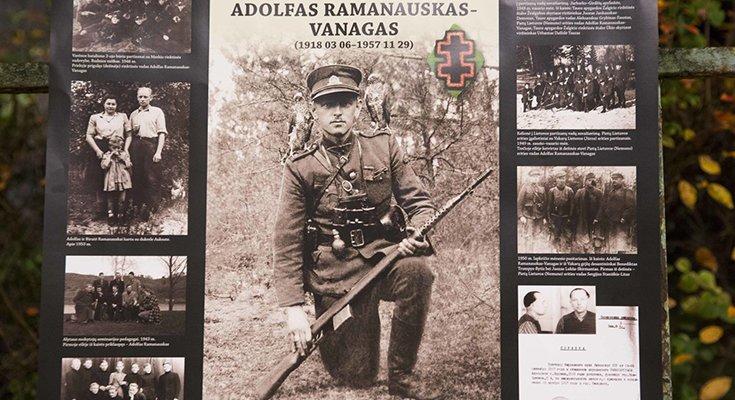 Vilniuje rasti partizanų vado Ramanausko-Vanago palaikai , nuotrauka-1