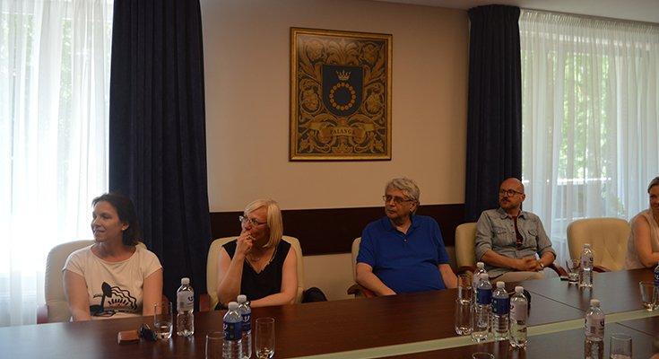 Palangoje lankėsi lenkų kultūros paveldo specialistai bei istorikai, nuotrauka-1