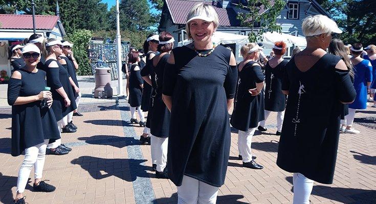 """Tarptautinis linijinių šokių festivalis """"Draugystės tiltas 2018"""" (nuotraukos, vaizdo įrašai), nuotrauka-26"""