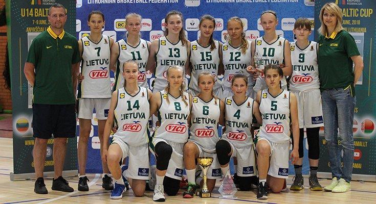 Lietuvos keturiolikmečiai krepšininkai iškovojo Baltijos taurę, nuotrauka-1