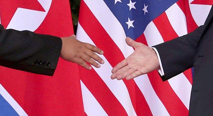 Šiaurės Korėjos ir JAV lyderiai pasirašė istorinį susitarimą  , nuotrauka-1