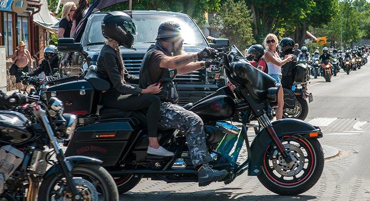 Baikerių festivalis Šventojoje: laisvės dvasia suvienijo tūstančius motociklų mylėtojų, nuotrauka-8