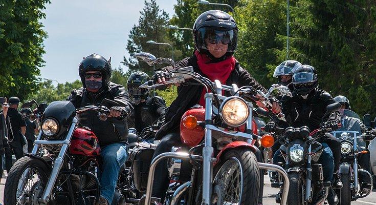 Baikerių festivalis Šventojoje: laisvės dvasia suvienijo tūstančius motociklų mylėtojų, nuotrauka-10