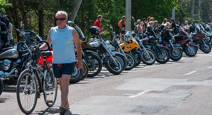 Baikerių festivalis Šventojoje: laisvės dvasia suvienijo tūstančius motociklų mylėtojų, nuotrauka-13