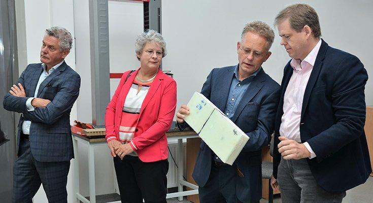 Klaipėdos universitete lankėsi Nyderlandų universitetų atstovai, nuotrauka-1