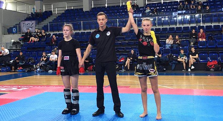 Eivilė Mockutė skina laurus kikbokso čempionatuose, nuotrauka-1