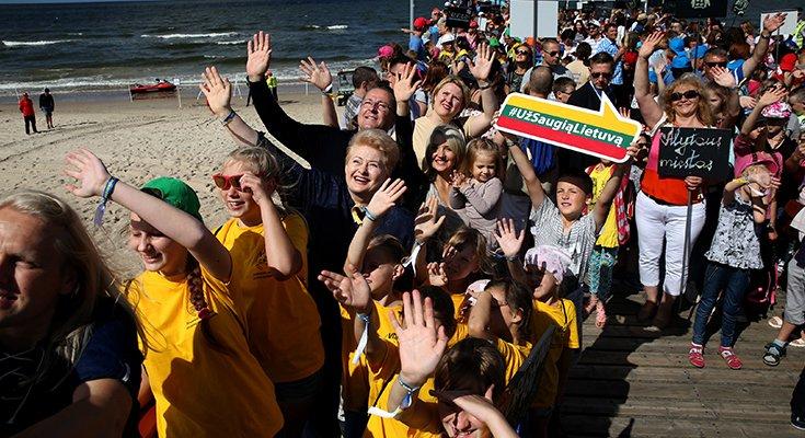 """Socialinė akcija """"Pasveikink jūrą Palangoje"""" kviečia jungtis savanorius, nuotrauka-1"""