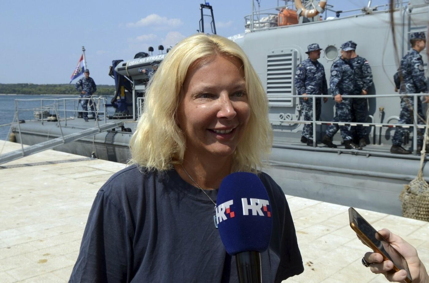 Išgelbėta iš laivo iškritusi ir 10 valandų atviroje jūroje praleidusi moteris , nuotrauka-1
