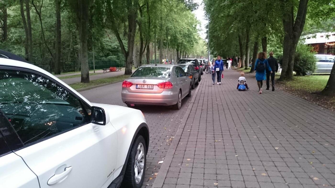 Brangios stovėjimo vietos Palangoje: poilsiautojai ieško ir neleistinų automobilių parkavimosi būdų, nuotrauka-2