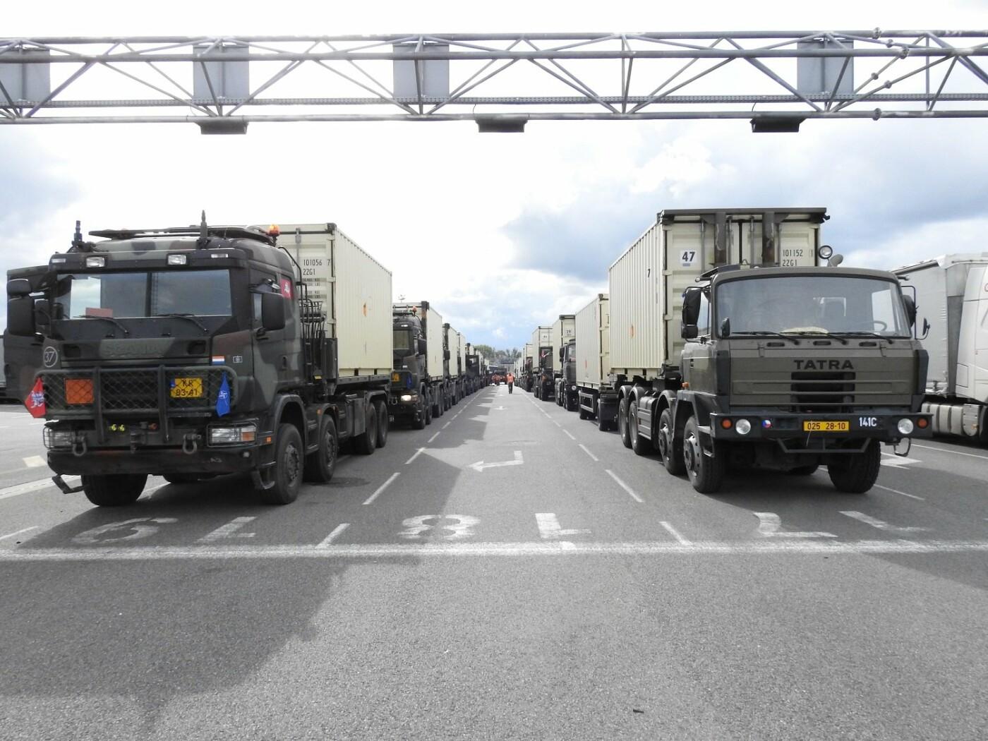 Belgijos kariuomenės konvojus pasipuošė Vyčiu , nuotrauka-5