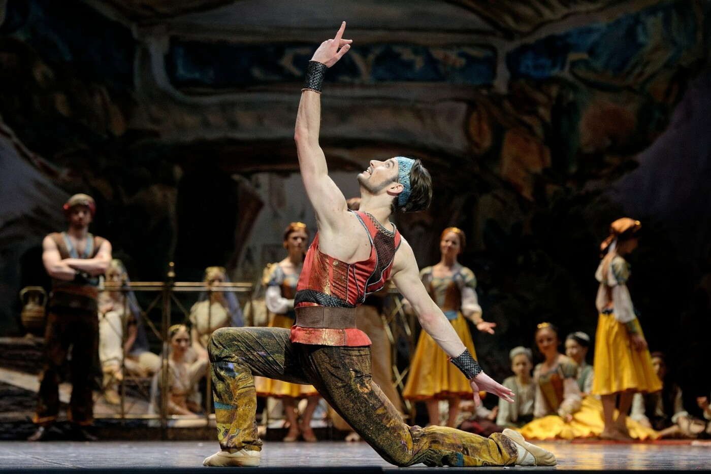 """Baleto šokėjas J.Laucius: """"Choreografas L.Massine – genijus, į kurio kiekvieną pastabą būtina įsiklausyti"""", nuotrauka-9"""