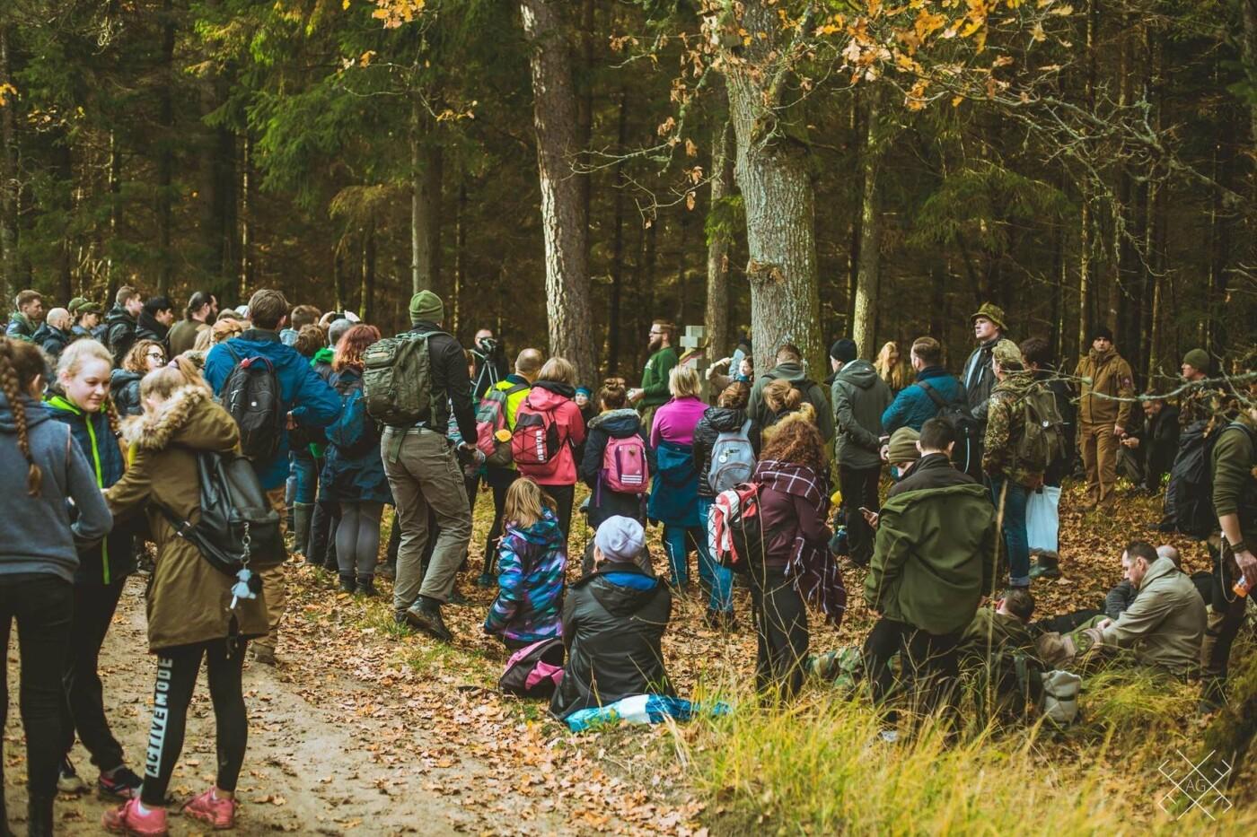 Moksleivių žygis partizanų takais: keliasdešimt nepamirštamų kilometrų , nuotrauka-6
