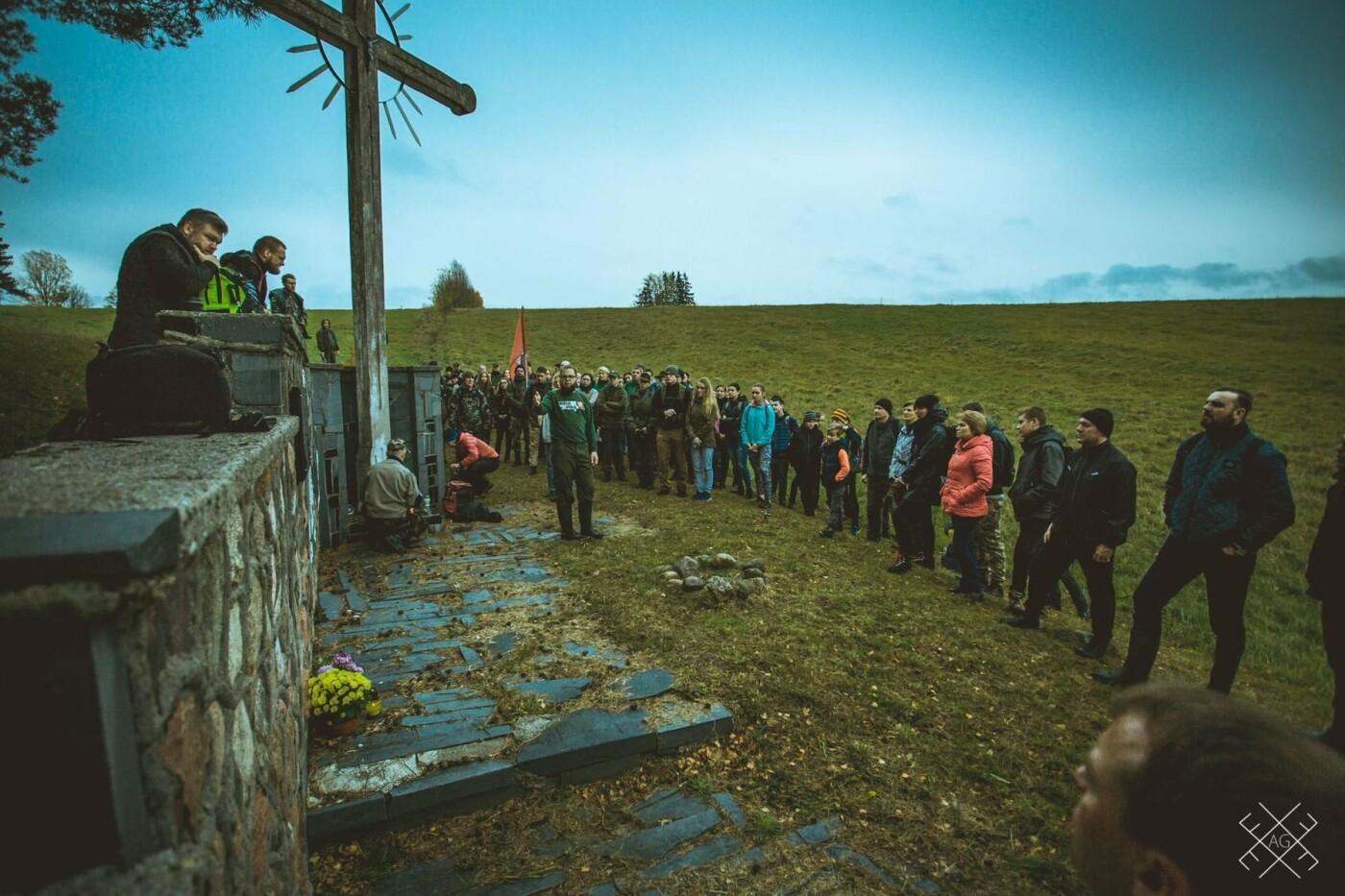 Moksleivių žygis partizanų takais: keliasdešimt nepamirštamų kilometrų , nuotrauka-2