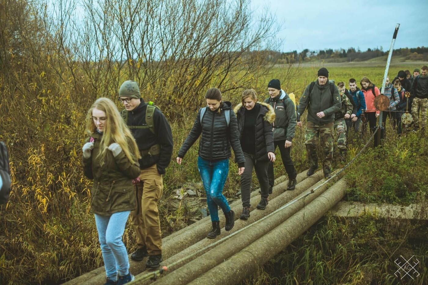 Moksleivių žygis partizanų takais: keliasdešimt nepamirštamų kilometrų , nuotrauka-7
