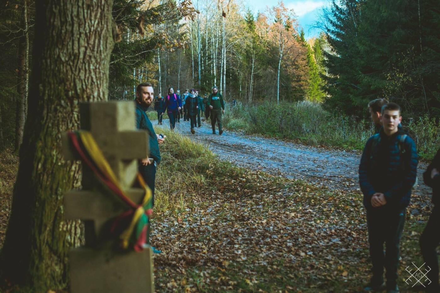 Moksleivių žygis partizanų takais: keliasdešimt nepamirštamų kilometrų , nuotrauka-3
