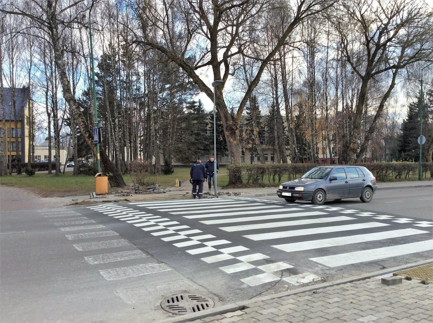 Pėsčiųjų saugumui užtikrinti – iškilios perėjos, nuotrauka-2