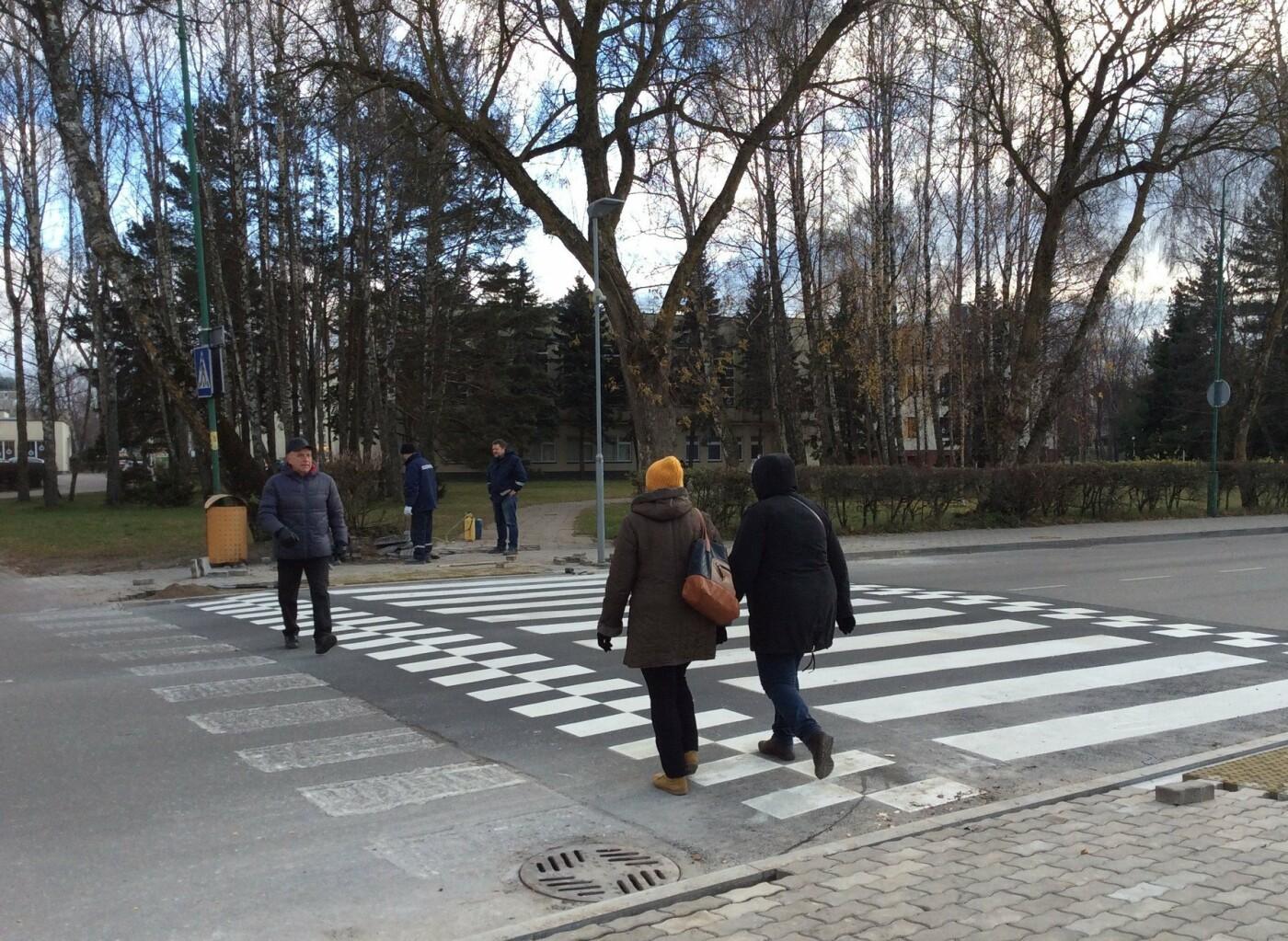 Pėsčiųjų saugumui užtikrinti – iškilios perėjos, nuotrauka-1