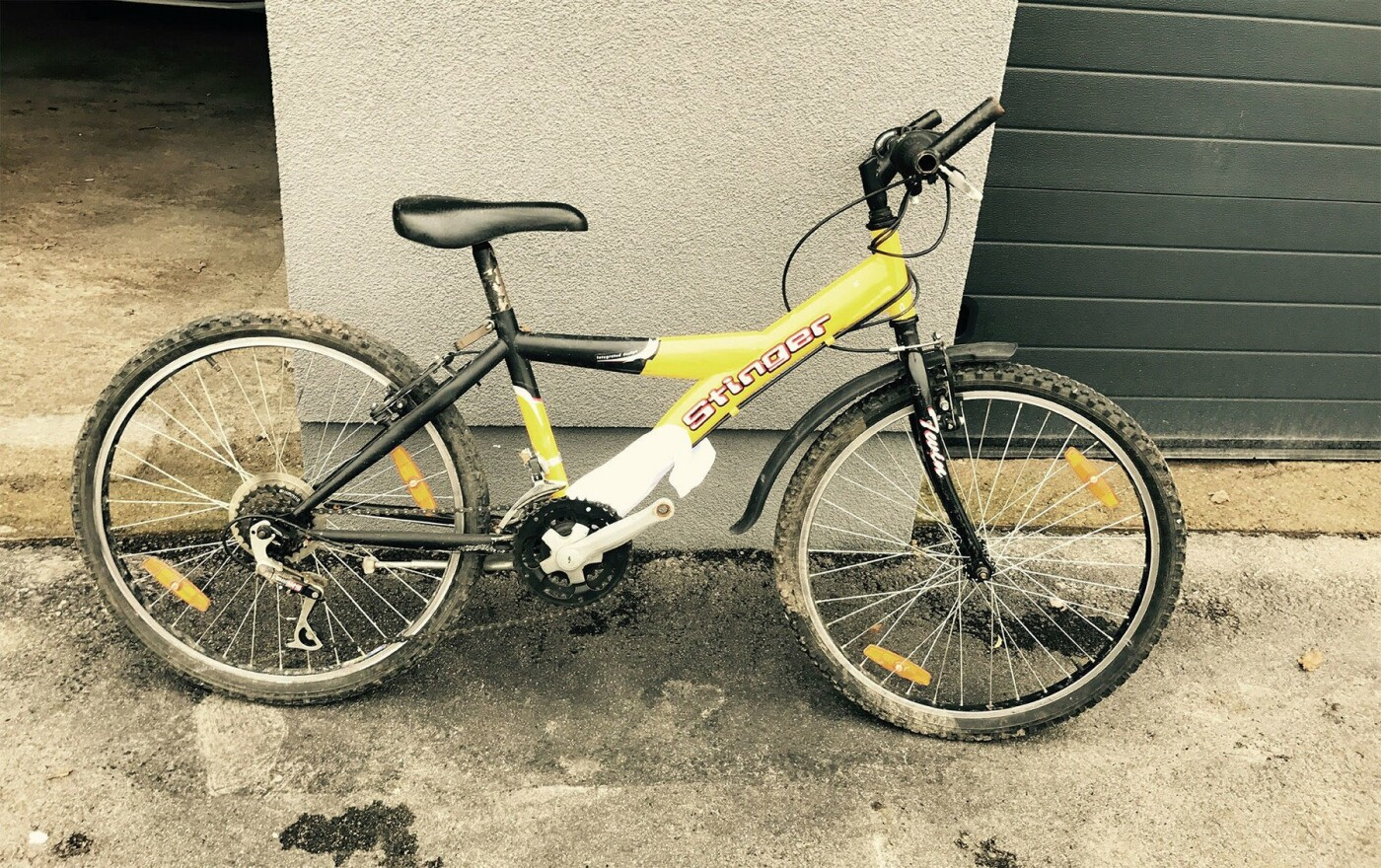 Palangoje rastas dviratis, nuotrauka-1