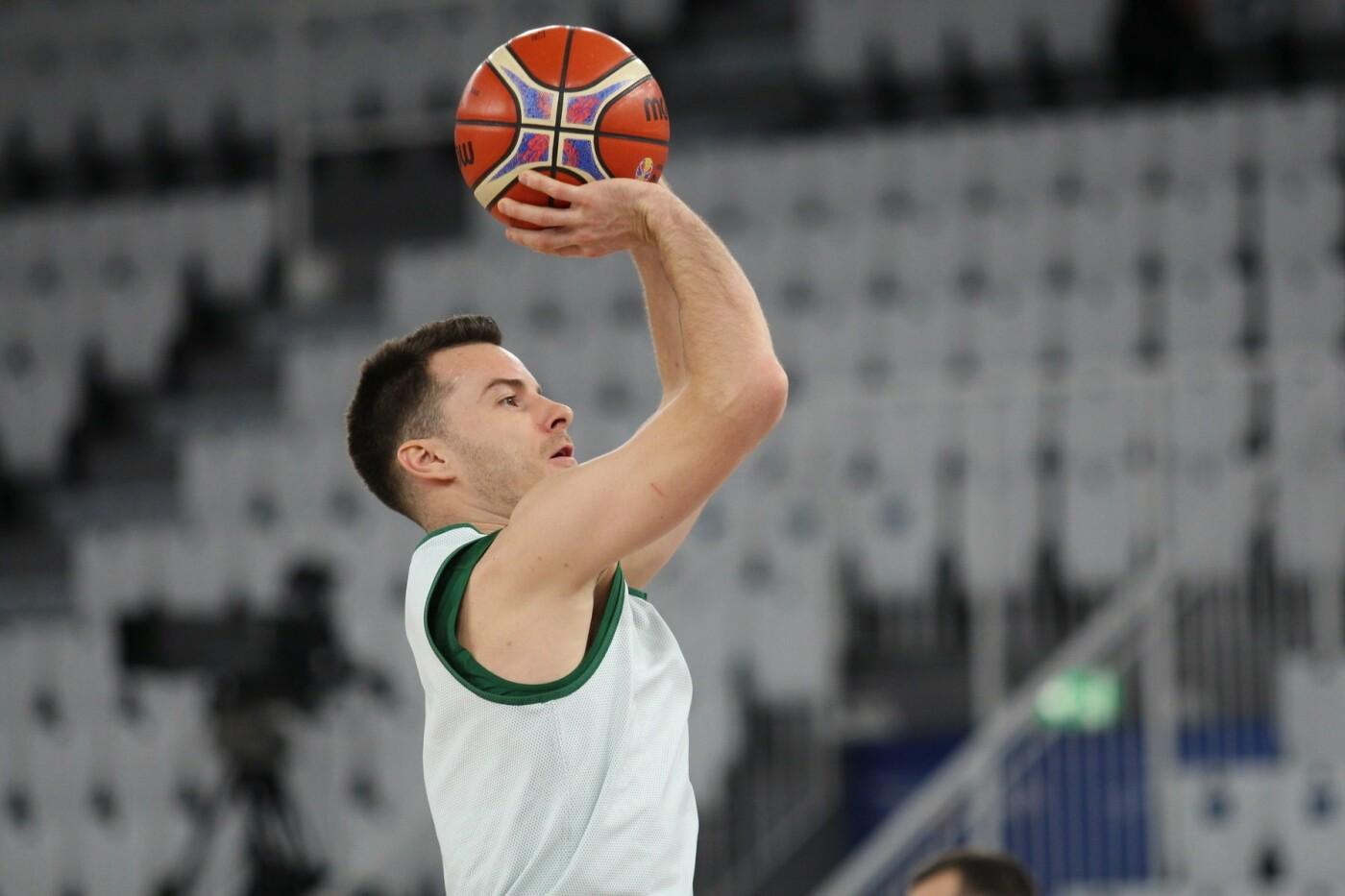 Lietuvos vyrų krepšinio rinktinė surengė vienintelę treniruotę Italijoje, nuotrauka-7