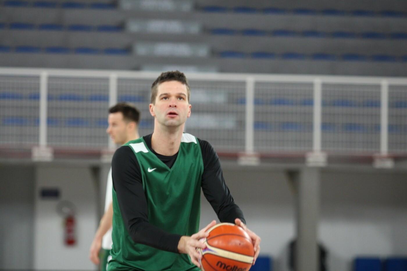 Lietuvos vyrų krepšinio rinktinė surengė vienintelę treniruotę Italijoje, nuotrauka-9