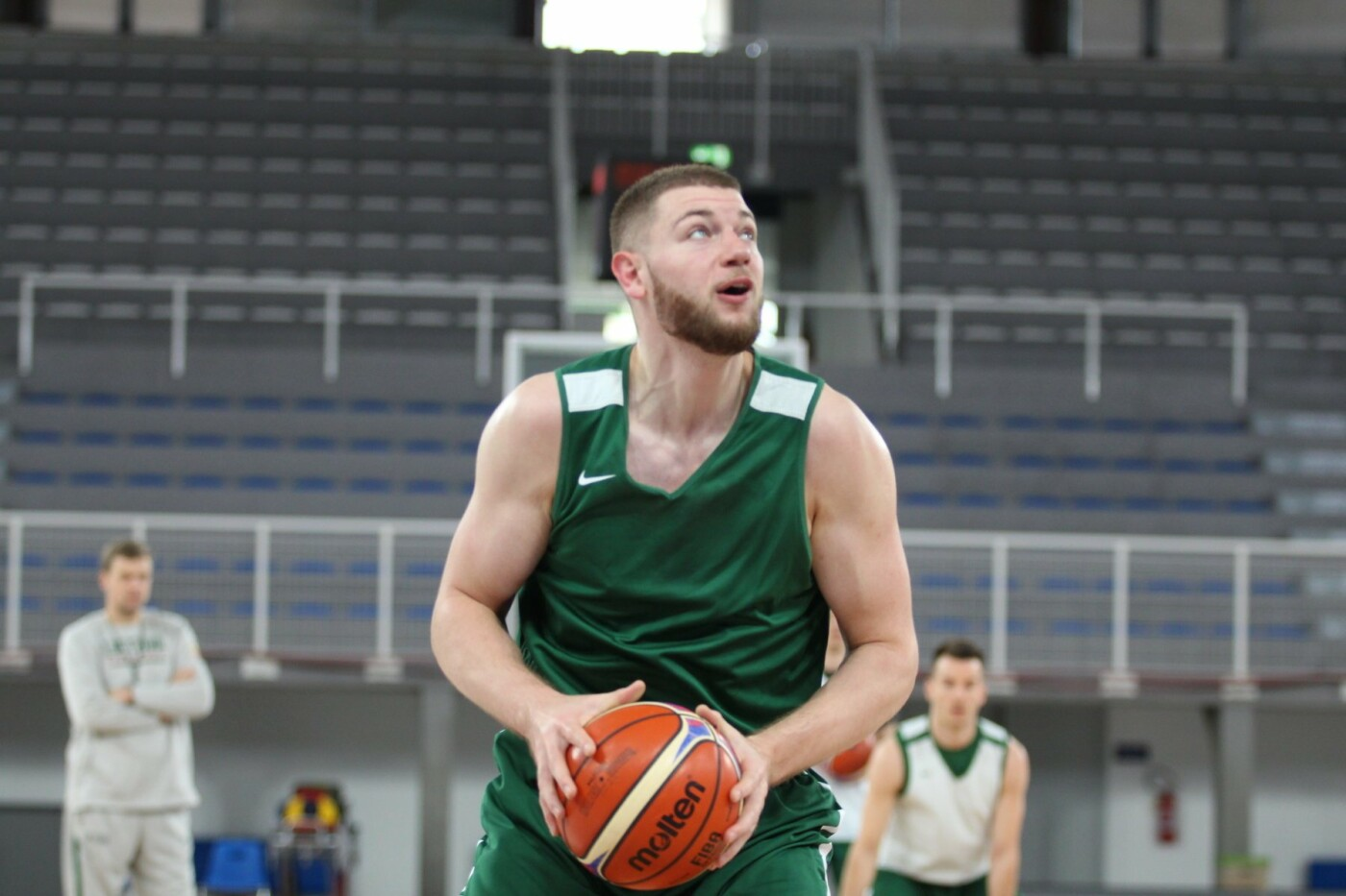 Lietuvos vyrų krepšinio rinktinė surengė vienintelę treniruotę Italijoje, nuotrauka-10