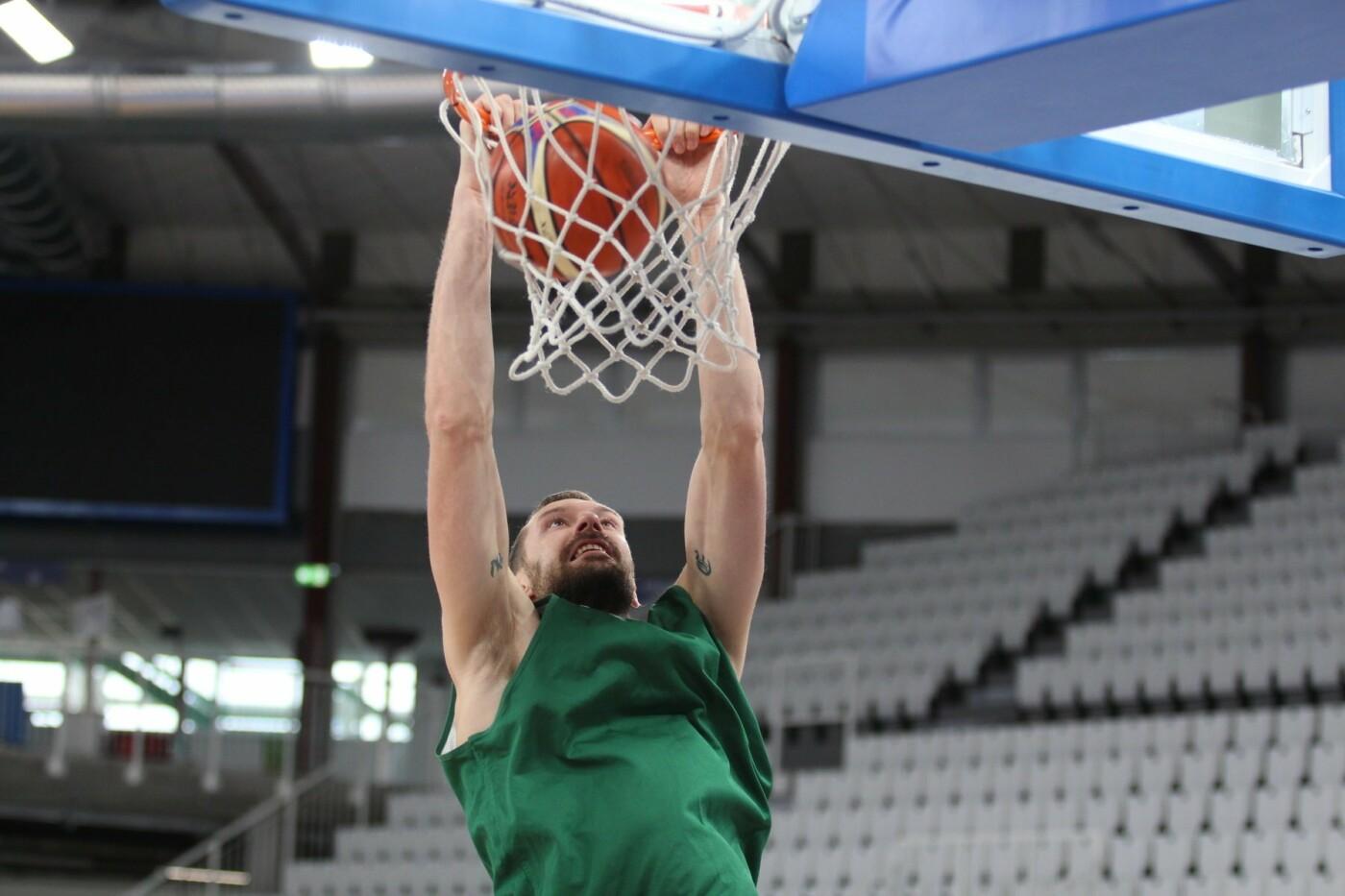 Lietuvos vyrų krepšinio rinktinė surengė vienintelę treniruotę Italijoje, nuotrauka-21