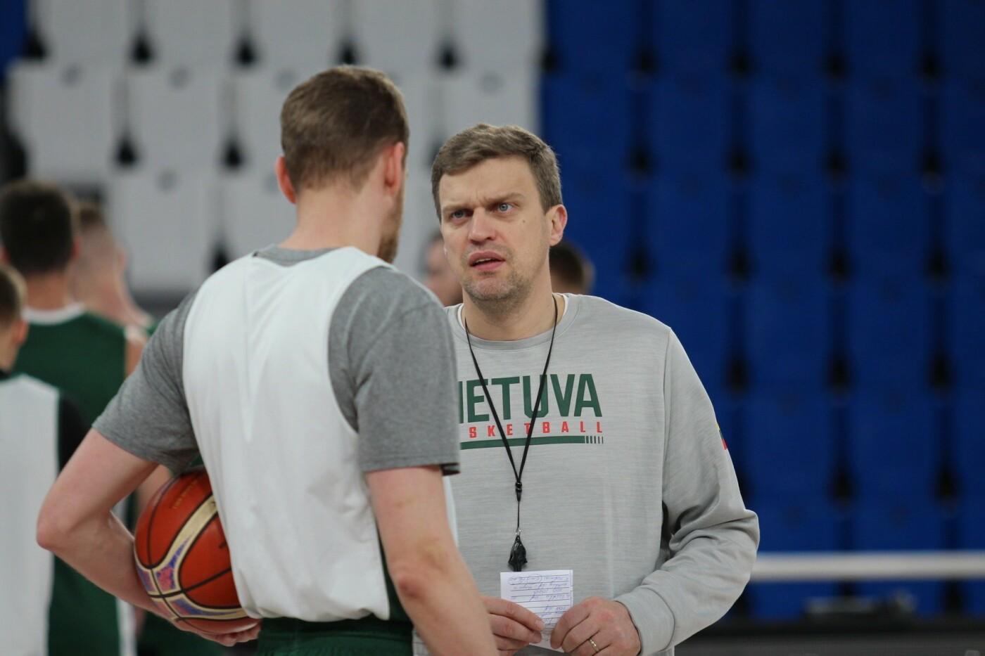 Lietuvos vyrų krepšinio rinktinė surengė vienintelę treniruotę Italijoje, nuotrauka-11