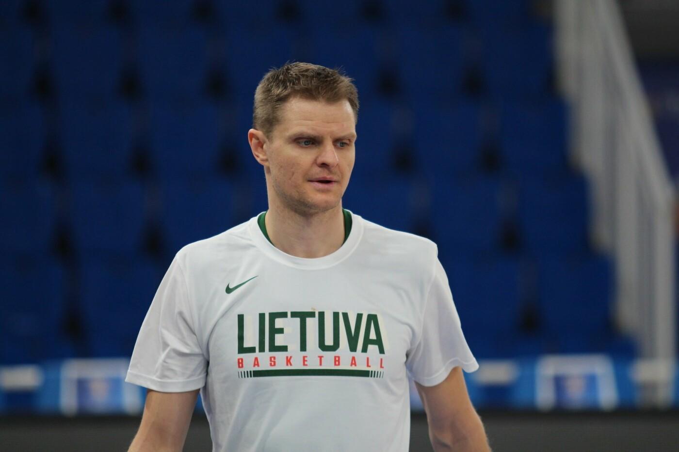 Lietuvos vyrų krepšinio rinktinė surengė vienintelę treniruotę Italijoje, nuotrauka-12