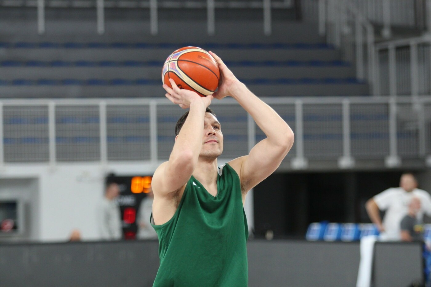 Lietuvos vyrų krepšinio rinktinė surengė vienintelę treniruotę Italijoje, nuotrauka-14