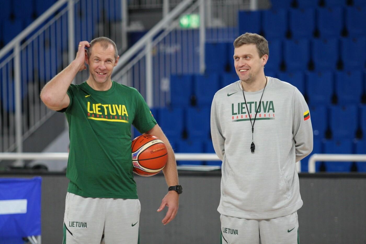 Lietuvos vyrų krepšinio rinktinė surengė vienintelę treniruotę Italijoje, nuotrauka-27