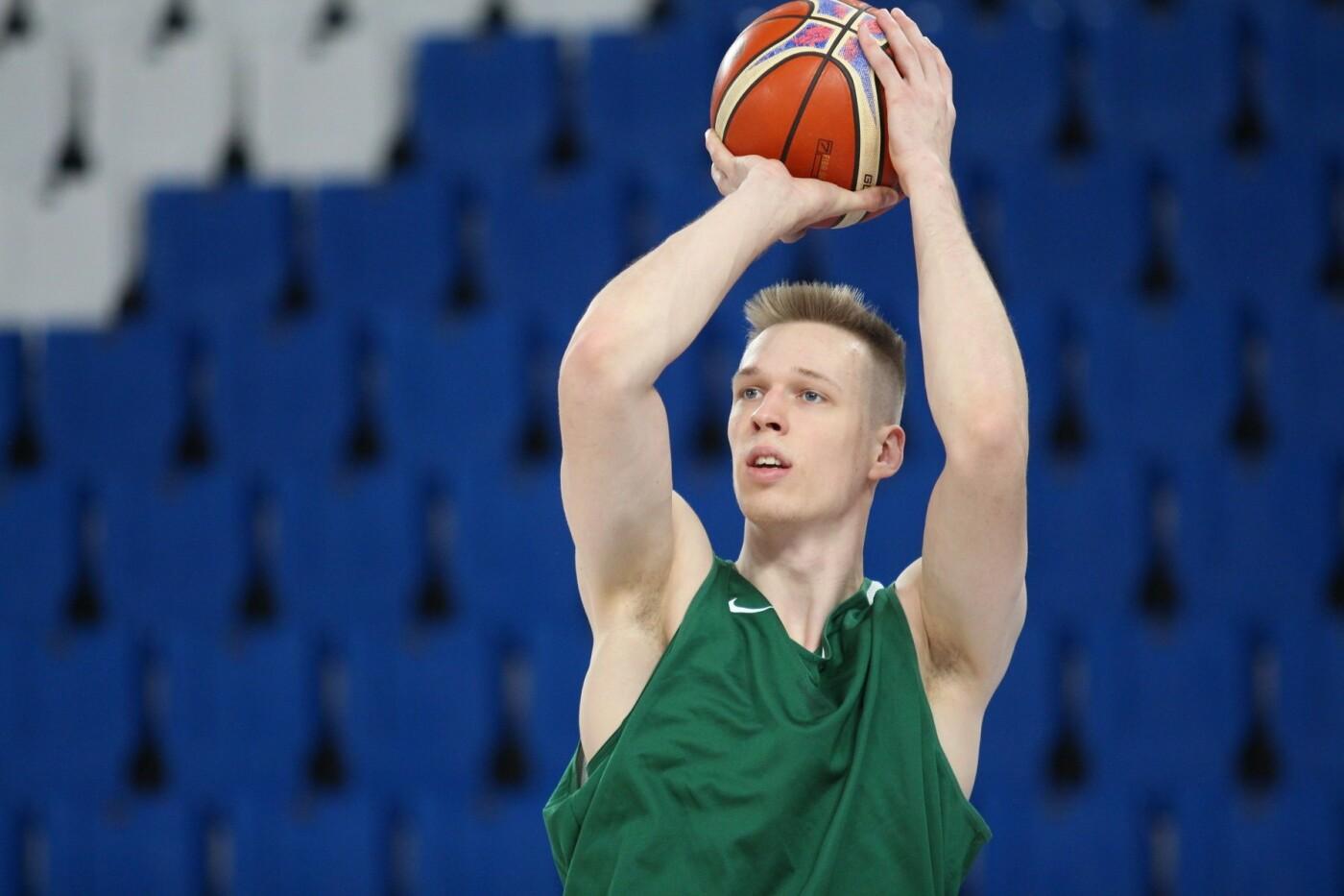 Lietuvos vyrų krepšinio rinktinė surengė vienintelę treniruotę Italijoje, nuotrauka-25