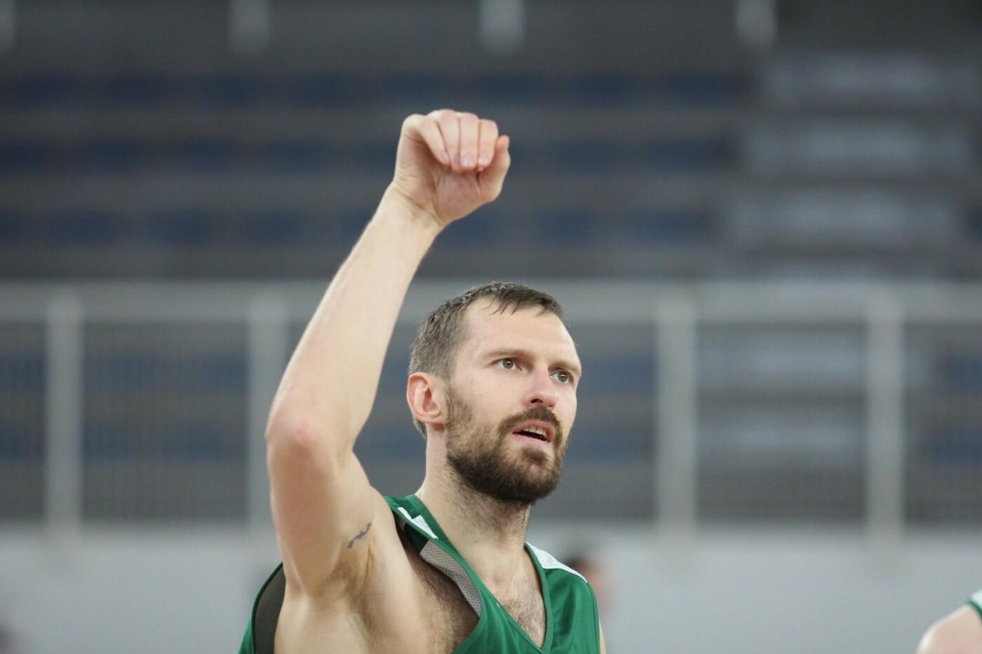 Lietuvos vyrų krepšinio rinktinė surengė vienintelę treniruotę Italijoje, nuotrauka-15