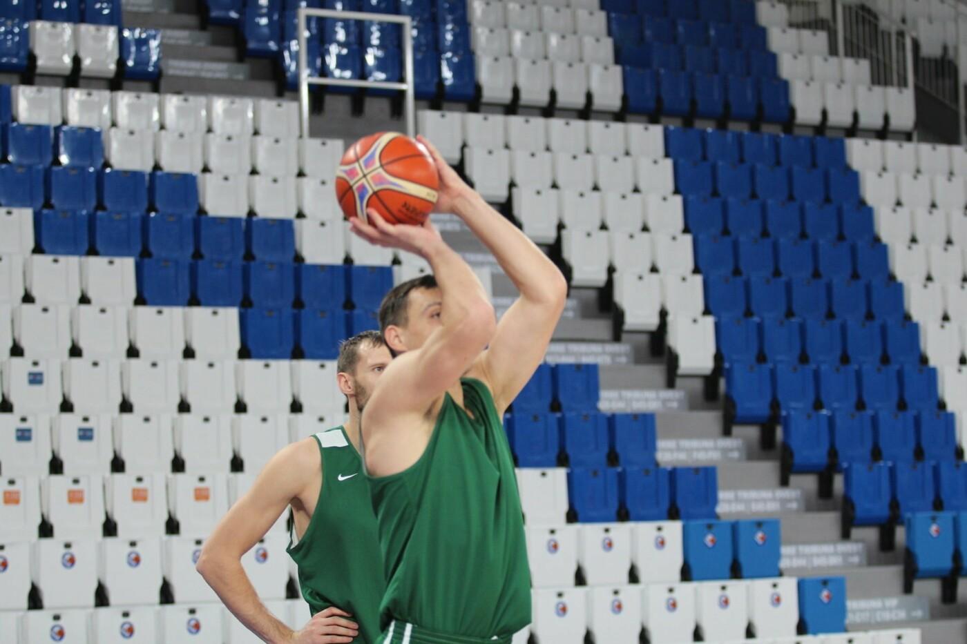 Lietuvos vyrų krepšinio rinktinė surengė vienintelę treniruotę Italijoje, nuotrauka-26
