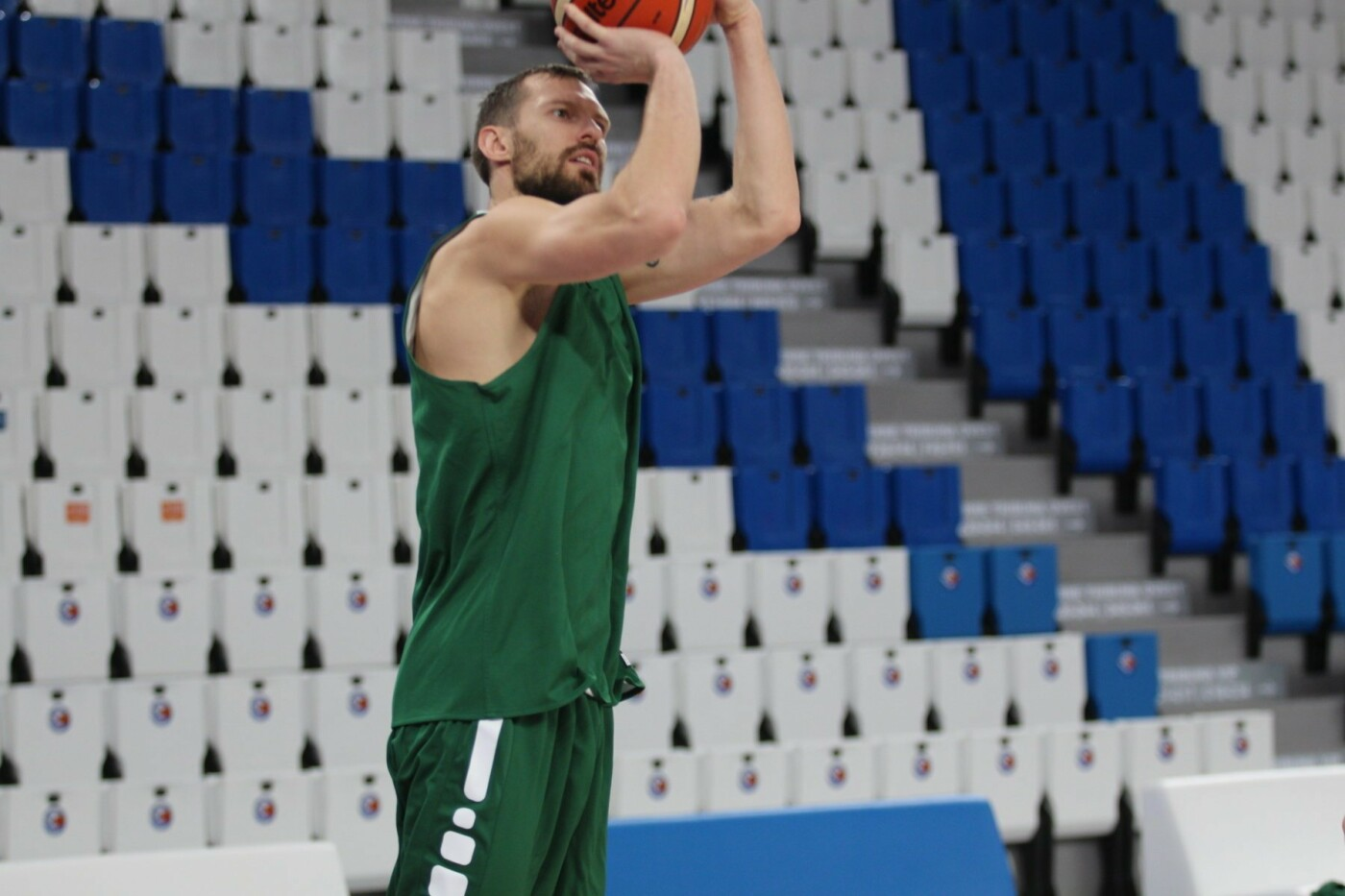 Lietuvos vyrų krepšinio rinktinė surengė vienintelę treniruotę Italijoje, nuotrauka-16