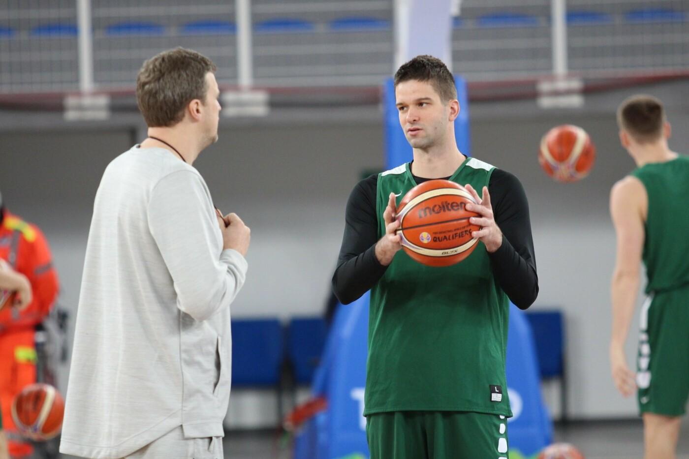 Lietuvos vyrų krepšinio rinktinė surengė vienintelę treniruotę Italijoje, nuotrauka-1