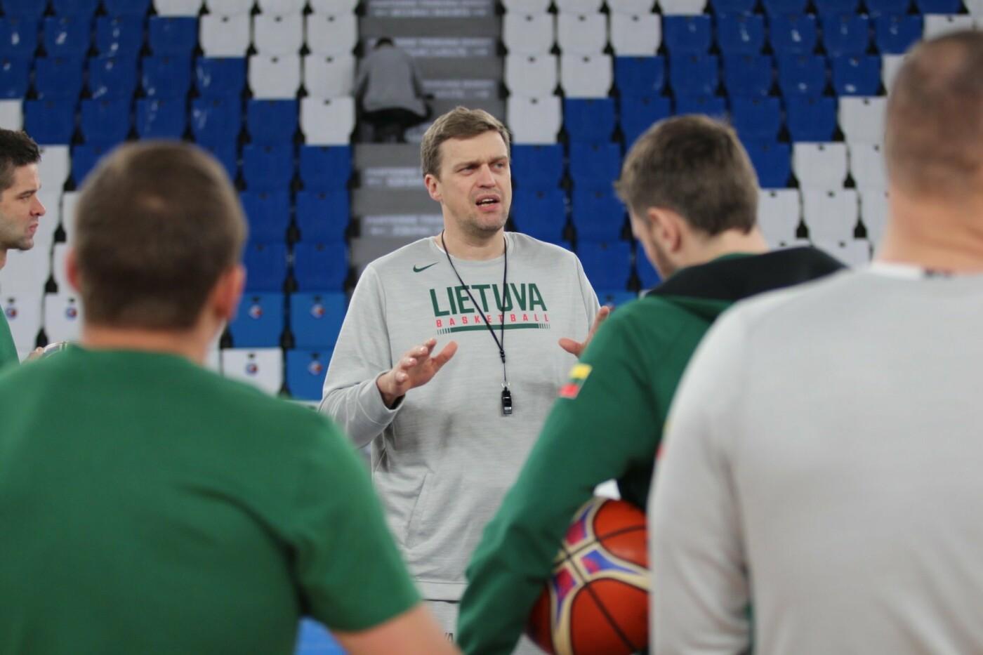Lietuvos vyrų krepšinio rinktinė surengė vienintelę treniruotę Italijoje, nuotrauka-2