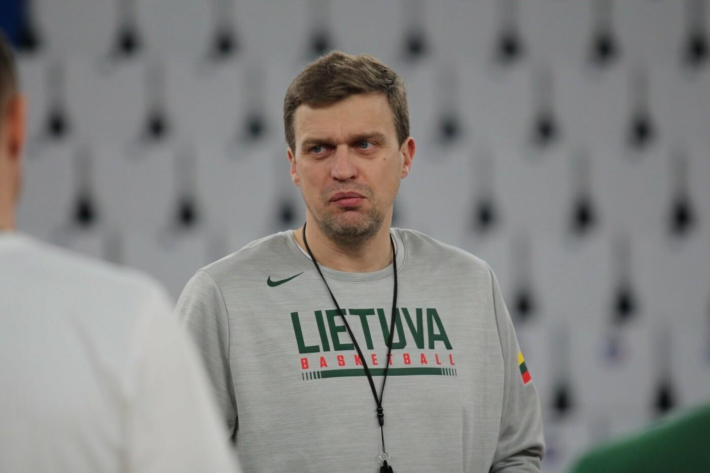 Lietuvos vyrų krepšinio rinktinė surengė vienintelę treniruotę Italijoje, nuotrauka-3