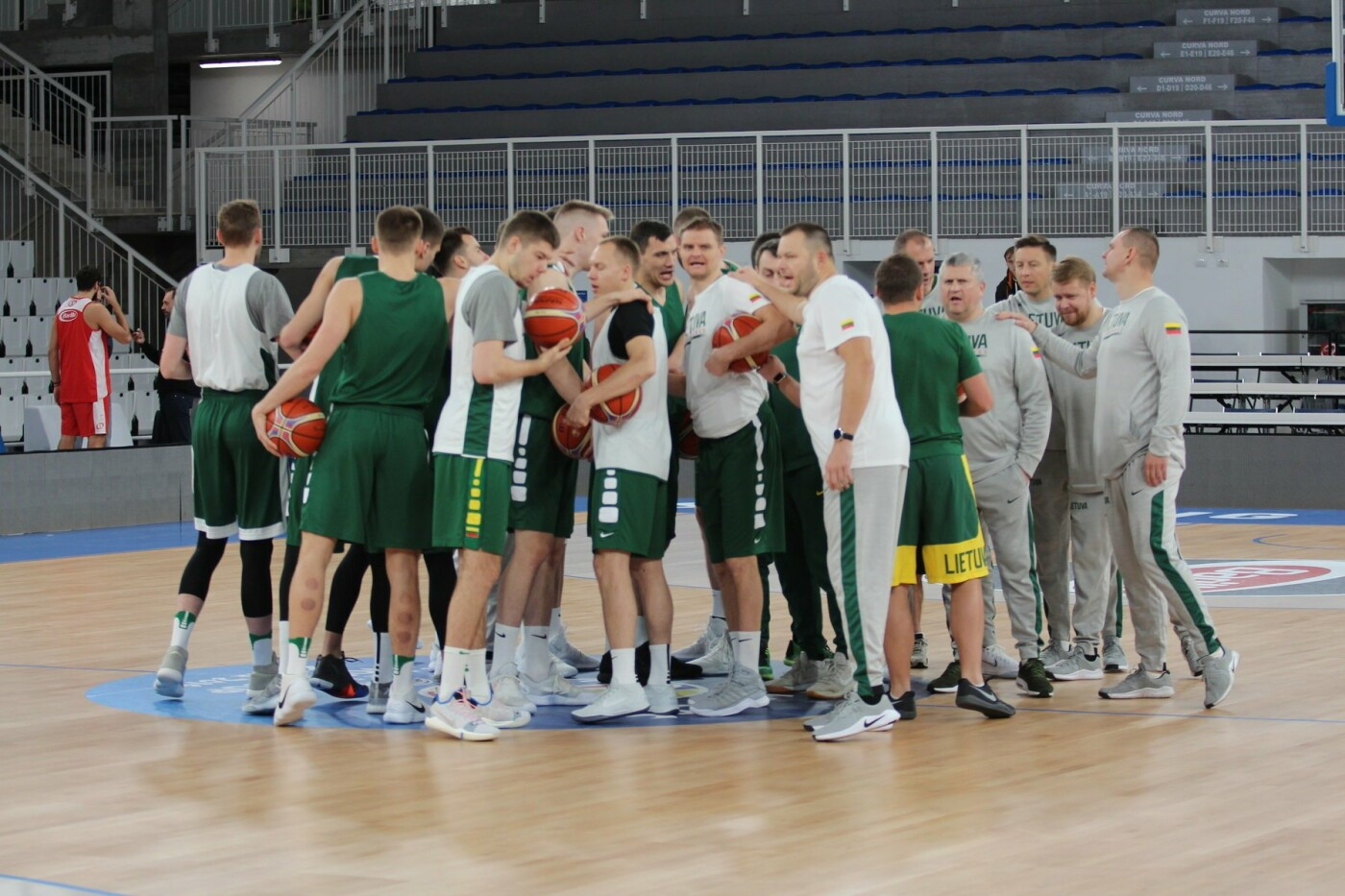 Lietuvos vyrų krepšinio rinktinė surengė vienintelę treniruotę Italijoje, nuotrauka-28