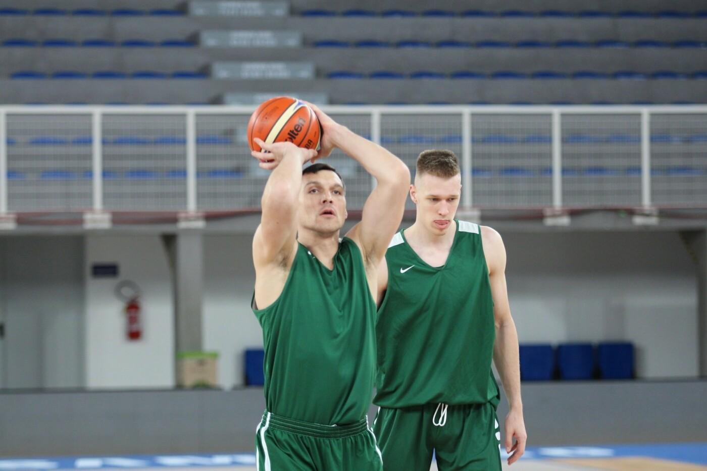 Lietuvos vyrų krepšinio rinktinė surengė vienintelę treniruotę Italijoje, nuotrauka-20