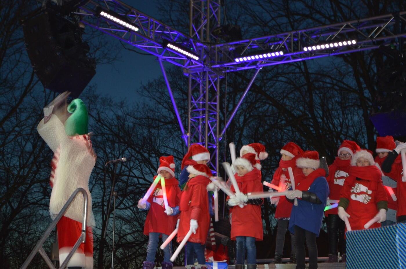 Palanga įžiebė eglę ir suspindo tūkstančiais kalėdinių šviesų, nuotrauka-36