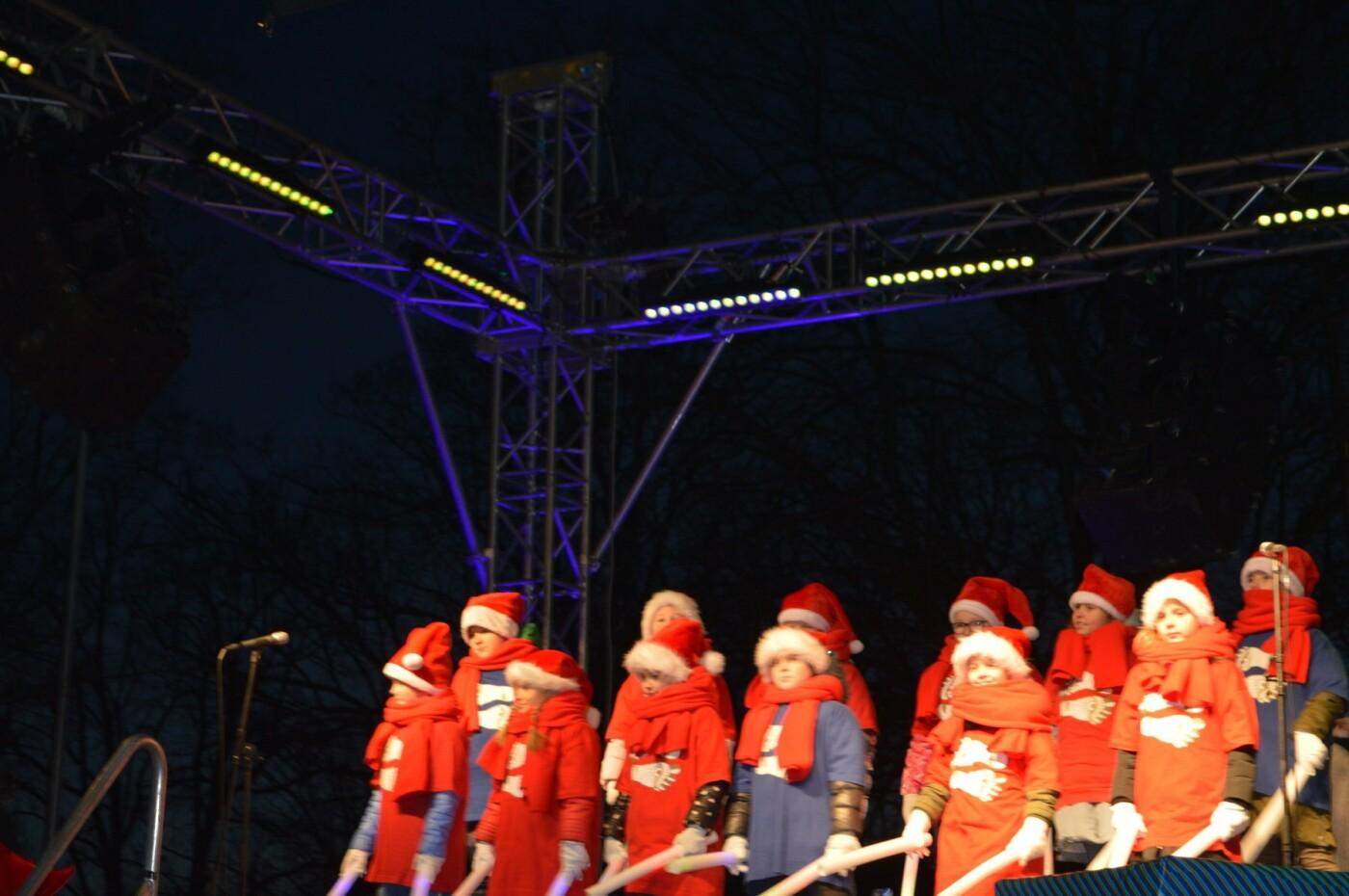 Palanga įžiebė eglę ir suspindo tūkstančiais kalėdinių šviesų, nuotrauka-13