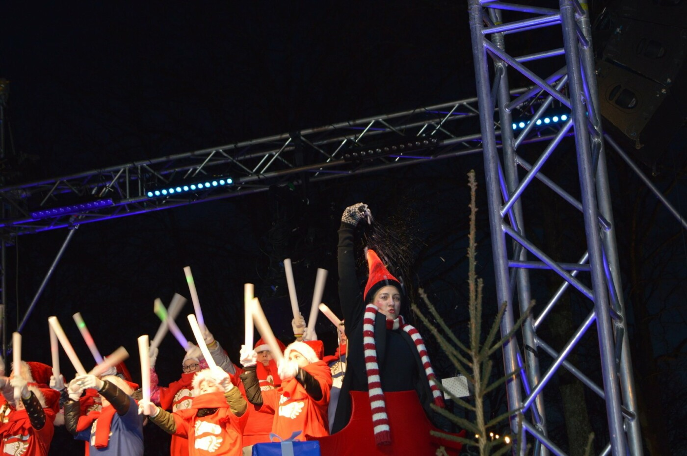 Palanga įžiebė eglę ir suspindo tūkstančiais kalėdinių šviesų, nuotrauka-58