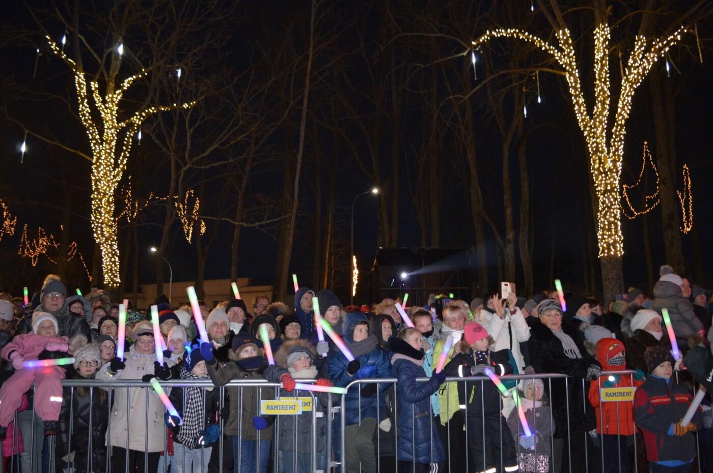 Palanga įžiebė eglę ir suspindo tūkstančiais kalėdinių šviesų, nuotrauka-17