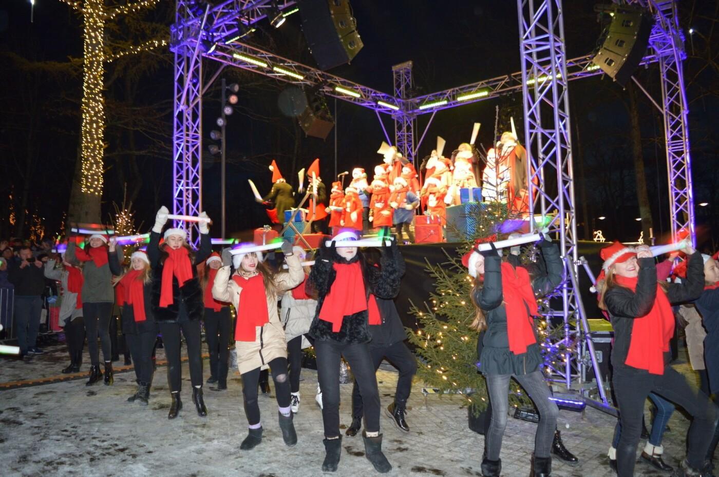 Palanga įžiebė eglę ir suspindo tūkstančiais kalėdinių šviesų, nuotrauka-45