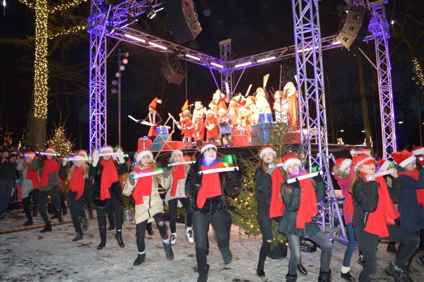 Palanga įžiebė eglę ir suspindo tūkstančiais kalėdinių šviesų, nuotrauka-31