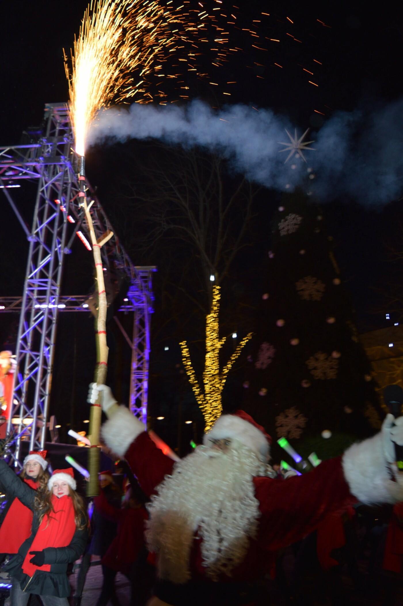 Palanga įžiebė eglę ir suspindo tūkstančiais kalėdinių šviesų, nuotrauka-34