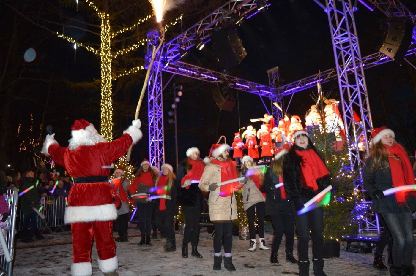 Palanga įžiebė eglę ir suspindo tūkstančiais kalėdinių šviesų, nuotrauka-47
