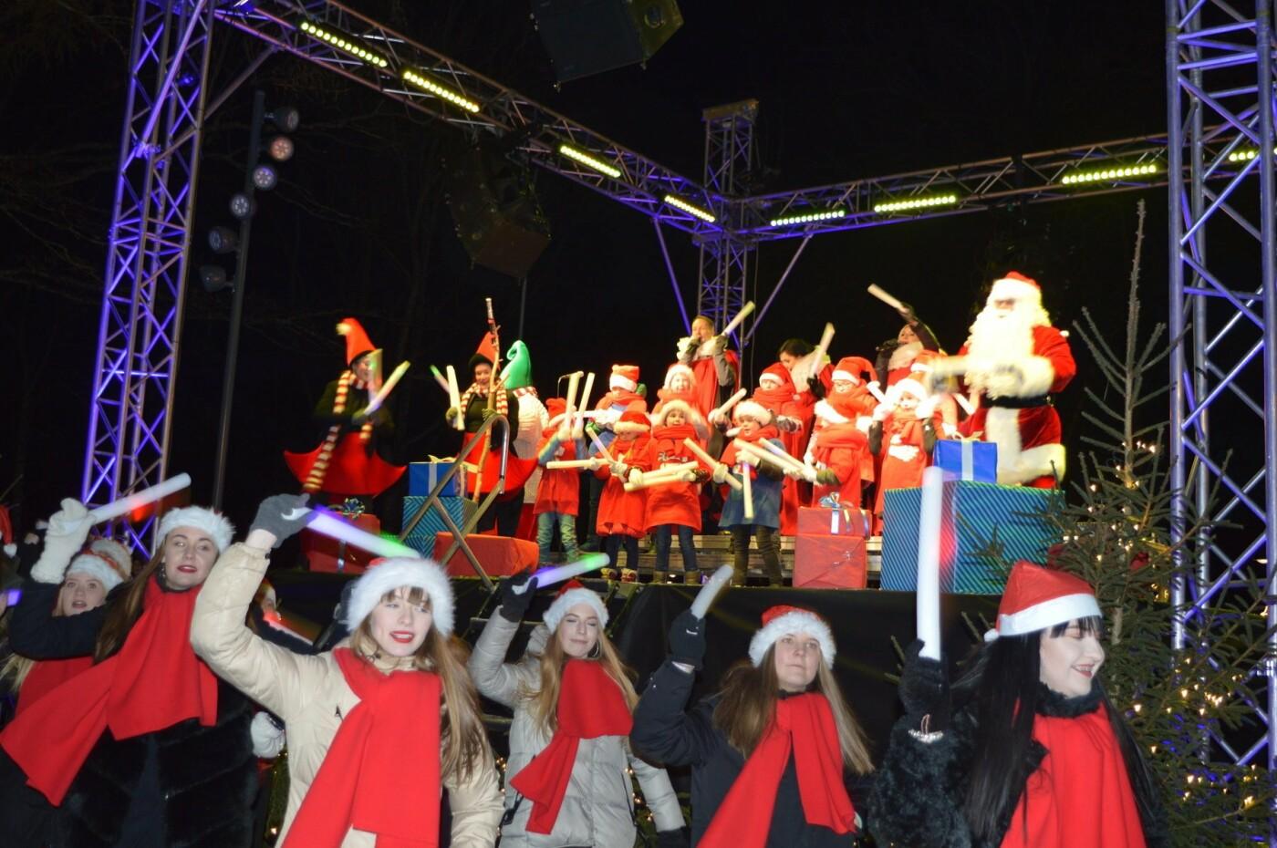 Palanga įžiebė eglę ir suspindo tūkstančiais kalėdinių šviesų, nuotrauka-57