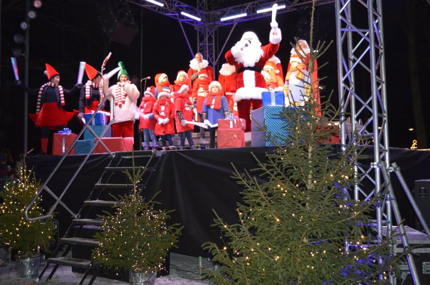 Palanga įžiebė eglę ir suspindo tūkstančiais kalėdinių šviesų, nuotrauka-60